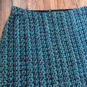 EUC: J. Crew Tweed Mini Skirt